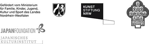 Gefördert  vom Ministerium für Familie, Kinder, Jugend, Kultur und Sport des Landes Nordrhein-Westfalen, KUNST STIFTUNG NRW, COLONIA ROMANICA